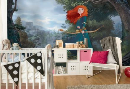 Princess Merida wall mural wallpaper